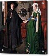 Eyck: Arnolfini Marriage Acrylic Print