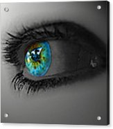 Eye Art Acrylic Print