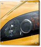 Eye Of A Car Acrylic Print