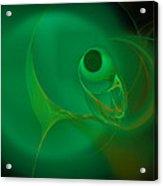 Eye Of The Fish Acrylic Print