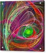 Eye Of The Storm Acrylic Print
