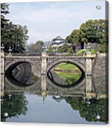 Eyeglass Bridge Acrylic Print