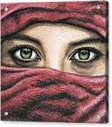 Eyes Magic Acrylic Print