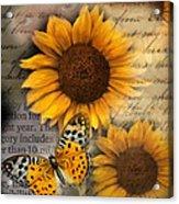 Eyes On Fall Acrylic Print