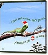 Ezekiels Christmas Acrylic Print