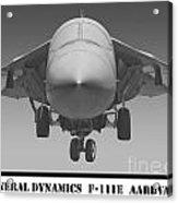 F-111e Aardvark Acrylic Print