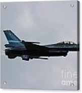 F-16 Vortex Acrylic Print