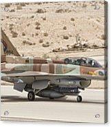 F-16i Sufa Fighting Falcon Acrylic Print