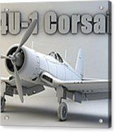 F4u-1 Corsair Acrylic Print