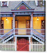 Facade Of Plantation Slave Quarters Acrylic Print by Jeremy Woodhouse