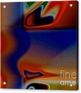 Face 123 Acrylic Print