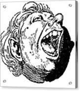 Face, 19th Century Acrylic Print