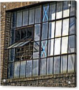 Factory Air In New Orleans Acrylic Print