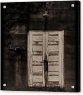 Factory Door Acrylic Print