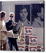 Factory Girl, Guy Pearce As Andy Acrylic Print by Everett