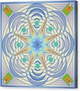 Fading Geometrics Acrylic Print