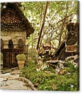 Faerie Garden Acrylic Print