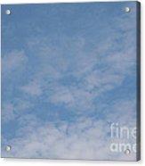Fair Skies Acrylic Print