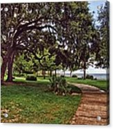 Fairhope Lower Park 2 Acrylic Print