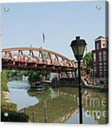 Fairport Lift Bridge Acrylic Print