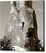 Fairy Chimney In Goreme Acrylic Print