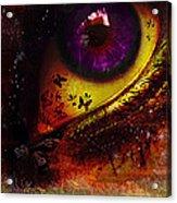 Fairy Eye Acrylic Print by Yvon van der Wijk