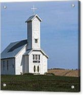 Faith On The Prairie Acrylic Print