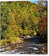 Fall Along Elk River Acrylic Print