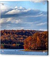 Fall At Dusk Acrylic Print