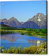 Fall At Oxbow Bend Acrylic Print