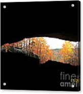 Fall At The Cave Acrylic Print