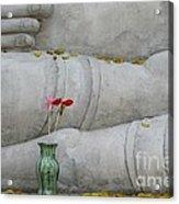Fall Buddha #1 Acrylic Print