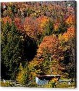 Fall Color West Virginia Acrylic Print