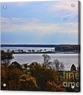 Fall Colors In Madison Acrylic Print