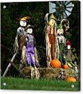 Fall Decoration Acrylic Print