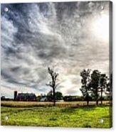 Fall Farm View Acrylic Print by Dan Crosby