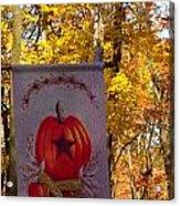 Fall Flag 1 Acrylic Print