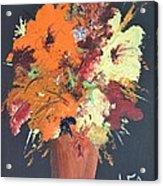 Fall Flower Arrangement 1 Acrylic Print