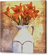Fall Flowers For You Acrylic Print