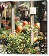Fall Garden Acrylic Print