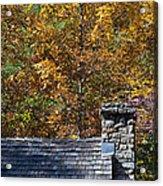 Fall House In Carolina Acrylic Print