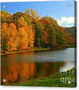 Fall In New York State Acrylic Print