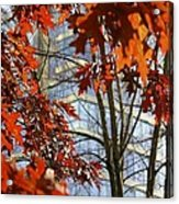 Fall In The City 1 Acrylic Print