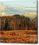 Fall Landscape-hdr Acrylic Print