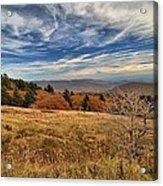 Fall On Whitetop Mountain Acrylic Print