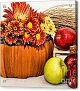 Fall Pleasures Acrylic Print