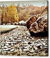 Fall Road Acrylic Print
