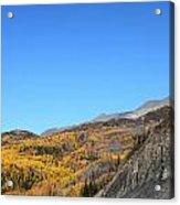 Fall Talkeetna Mountains Acrylic Print