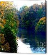 Fall Time Creek Acrylic Print