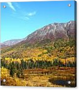 Fall Valley Acrylic Print
